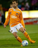 Apr 12, 2008, Kansas City Wizards vs Houston Dynamo - Brad Davis Photographic Print by Scott Pribyl