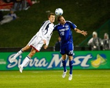 Apr 9, 2008, Kansas City Wizards vs New England Revolution - Tyson Wahl Photographic Print by Scott Pribyl