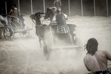 Roman Chariot in a Fight of Gladiators, Bloody Circus Prints by  outsiderzone