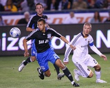 Apr 3, 2008, San Jose Earthquakes vs Los Angeles Galaxy - Jason Hernandez Photographic Print by Robert Mora