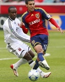 Jan 11, 2007, D.C. United vs Real Salt Lake - Javier Morales Photographic Print by George Frey