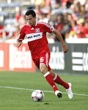 Jun 20, 2009, Chicago Fire vs Real San Luis FC - Marco Pappa Photo by Brian Kersey