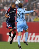 May 16, 2009, Colorado Rapids vs New England Revolution - Darrius Barnes Photo by Keith Nordstrom