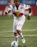 Jun 13, 2009, New York Red Bulls vs Toronto FC - Jeremy Hall Photographic Print by Paul Giamou
