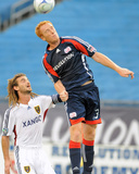 Aug 23, 2009, Real Salt Lake vs New England Revolution - Jeff Larentowicz Photographic Print by Keith Nordstrom