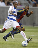 Apr 26, 2007, FC Dallas - Real Salt Lake - Jamison Olave Photographic Print by George Frey