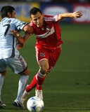 Aug 23, 2009, Colorado Rapids vs Chicago Fire - Kosuke Kimura Photographic Print by Brian Kersey