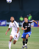 Jun 14, 2008, Los Angeles Galaxy vs San Jose Earthquakes - Shea Salinas Photo by Sara Wolfram