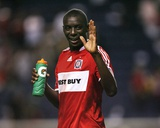 Jul 18, 2009, San Jose Earthquakes vs Chicago Fire - Bakary Soumare Photo by Brian Kersey