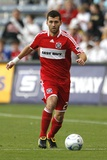Aug 1, 2009, Real Salt Lake vs Chicago Fire - Gonzalo Segares Photo af Brian Kersey