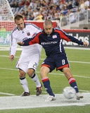 Aug 20, 2008, D.C. United vs New England Revolution - Chris Tierney Photographic Print by Martin Morales