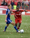 Apr 26, 2008, Kansas City Wizards vs Toronto FC - Jack Jewsbury Photographic Print by Paul Giamou