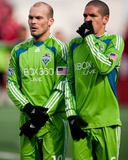 Apr 4, 2009, Seattle Sounders FC vs Toronto FC - Osvaldo Alonso Photographic Print by Paul Giamou