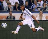 Oct 24, 2009, San Jose Earthquakes vs Los Angeles Galaxy - Sean Franklin Photographic Print by Robert Mora