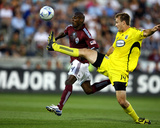 Aug 1, 2009, Columbus Crew vs Colorado Rapids - Chad Marshall Photographic Print by Garrett Ellwood