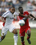Aug 1, 2009, Real Salt Lake vs Chicago Fire - Jamison Olave Photo by Brian Kersey