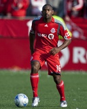 Apr 26, 2009, Kansas City Wizards vs Toronto FC - Marvell Wynne Photographic Print by Paul Giamou