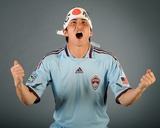 Feb 7, 2009, Colorado Rapids - Kosuke Kimura Photographic Print by Garrett Ellwood