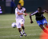 Apr 3, 2008, San Jose Earthquakes vs Los Angeles Galaxy - Sean Franklin Photographic Print by Robert Mora