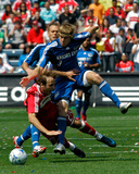 Apr 20, 2008, Kansas City Wizards vs Chicago Fire - Chance Myers Photographic Print by Brian Kersey