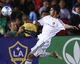 Aug 1, 2009, FC Barcelona vs Los Angeles Galaxy - AJ DeLaGarza Photographic Print by Robert Mora
