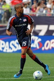 Jul 11, 2009, Kansas City Wizards vs New England Revolution - Darrius Barnes Photo by Keith Nordstrom