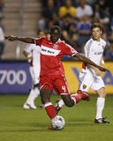 Aug 1, 2009, Real Salt Lake vs Chicago Fire - Bakary Soumare Photo by Brian Kersey