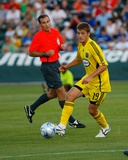 Jun 14, 2008, Kansas City Wizards vs Columbus Crew - Robbie Rogers Photographic Print by Scott Pribyl