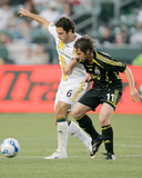 Jun 23, 2007, Columbus Crew vs Los Angeles Galaxy - Ned Grabavoy Photographic Print by German Alegria