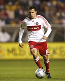 Apr 29, 2009, Club America vs Chicago Fire - Marco Pappa Photo by Brian Kersey