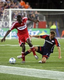 Aug 9, 2008, Chicago Fire vs New England Revolution - Bakary Soumare Photographic Print by Martin Morales