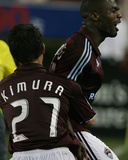 May 10, 2008, Colorado Rapids vs Houston Dynamo - Kosuke Kimura Photographic Print by Thomas B. Shea