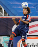 Aug 29, 2009, San Jose Earthquakes vs New England Revolution - Kevin Alston Photo by Keith Nordstrom