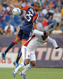 Aug 23, 2009, Real Salt Lake vs New England Revolution - Darrius Barnes Photographic Print by Keith Nordstrom