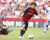 May 16, 2009, Kansas City Wizards vs Real Salt Lake - Kyle Beckerman Photographic Print by Melissa Majchrzak
