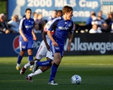 Apr 23, 2009, New York Red Bulls vs Kansas City Wizards - Matt Besler Photographic Print by Scott Pribyl