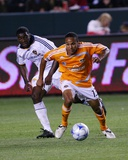 Apr 19, 2008, Houston Dynamo vs Los Angeles Galaxy - Ricardo Clark Photographic Print by Robert Mora