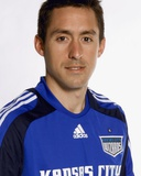 2009 Kansas City Wizards Headshots - Davy Arnaud Photo by Scott Pribyl