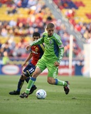 Aug 8, 2009, Seattle Sounders FC vs Real Salt Lake - Osvaldo Alonso Photographic Print by Melissa Majchrzak