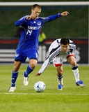 Apr 9, 2008, Kansas City Wizards vs New England Revolution - Jack Jewsbury Photographic Print by Scott Pribyl