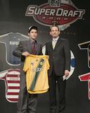 2006 MLS Super Draft: Jan 20 - Nathan Sturgis Fotografisk tryk af Hunter Martin