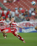 Apr 26, 2007, New York Red Bulls vs FC Dallas - Dax McCarty Photographic Print by Rick Yeatts