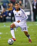 2009 MLS Cup: Nov 22, Los Angeles Galaxy vs Real Salt Lake - Sean Franklin Photographic Print by Robert Mora