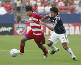 Mar 30, 2008, Chivas USA vs FC Dallas - Paulo Nagamura Photographic Print by Rick Yeatts