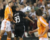 Jun 4, 2008, Houston Dynamo vs D.C. United - Patrick Ianni Photographic Print by Tony Quinn