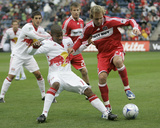 Apr 5, 2009, New York Red Bulls vs Chicago Fire - Jeremy Hall Photographic Print by Brian Kersey