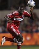 Sep 25, 2008, Los Angeles Galaxy vs Chicago Fire - Bakary Soumare Photo by Brian Kersey