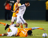 2009 Western Conference Championship: Nov 13, Houston Dynamo vs Los Angeles Galaxy - Landon Donovan Photographic Print by Robert Mora