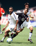 Jun 30, 2008, Los Angeles Galaxy vs D.C. United - Sean Franklin Photographic Print by Tony Quinn