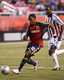 Sep 20, 2008, Chivas vs Real Salt Lake - Robbie Findley Photographic Print by Melissa Majchrzak